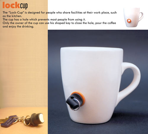 a lock-cup