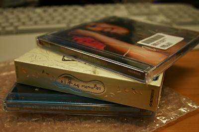 주문한 음반CD 도착