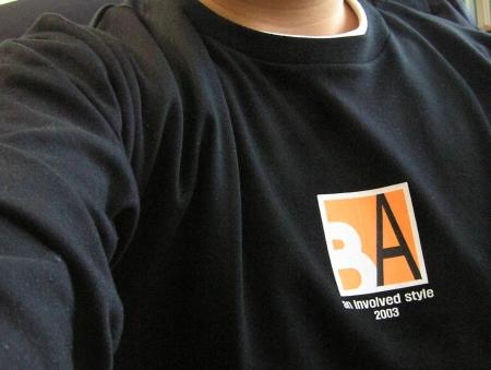 블로기어워드티셔츠