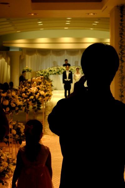 호찬님 결혼식날 사진