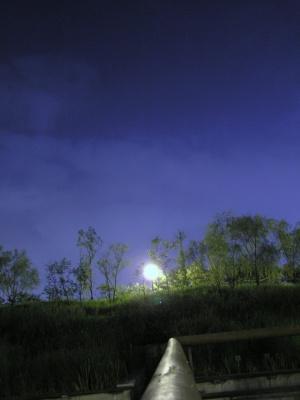 선유도에서 본 달